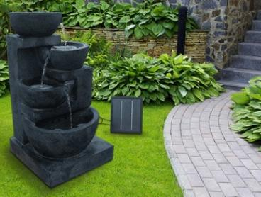 From $129 for a Range of Solar-Powered Fountains