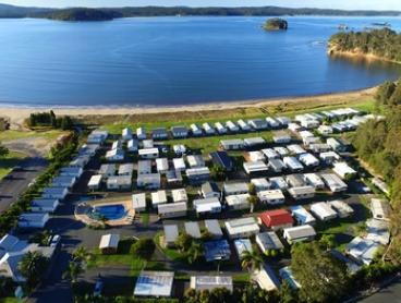 South Coast, Batemans Bay: Three or Five-Night Beach Break in Oceanview Villa for Four People at Clyde View Holiday Park