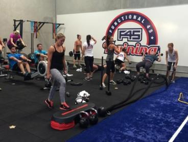One-Month Unlimited F45 Group Sessions for One ($19) or Two ($35) at F45 Training, Zetland (Up to $528 Value)
