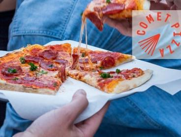Three-Course Meal with Soft Drinks for Two ($29), Four ($55) or Six People ($79) at Comet Pizza (Up to $258 Value)