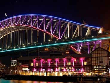 Just $20 for a 90-Minute Vivid Festival Harbour Cruise with Drink on Arrival (Value $50)