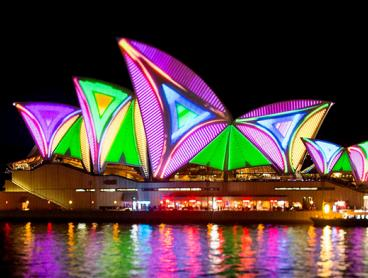 Experience Vivid with a 2.5-Hour Sydney Harbour Cruise. Prices Start from $39 Including a Buffet Dinner and Welcome Drink (Valued Up To $99)