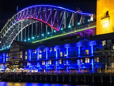 Weekday or Weekend Vivid Cruises on Sydney Harbour - $25 for a Child or from $33 for an Adult. Includes Two Complimentary Beverages per Person plus a Delicious Buffet Dinner (Valued Up To $89)