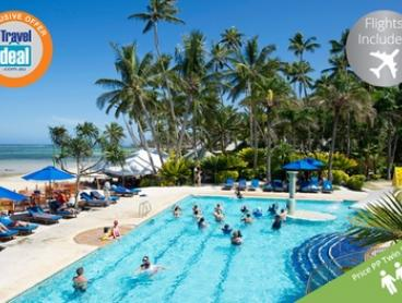 Fiji: From $999 for a Seven-Night Escape with Flights, Breakfast, Massage and Activities at Fiji Hideaway Resort & Spa