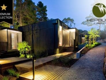 Hepburn Springs: One-Three-Night Luxury Villa Package Stay for Two People with Local Gift Pack at Hepburn by Hepburn