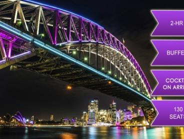 Weekend Vivid Cruise with Buffet and Drink - Child ($28) or Adult Ticket ($39) with Magic Cruises (Up to $80 Value)