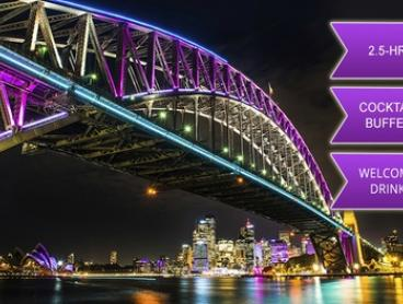 $49 for a Ticket to Vivid Festival Cruise with Buffet and Drink with iToursntix (Up to $105 Value)