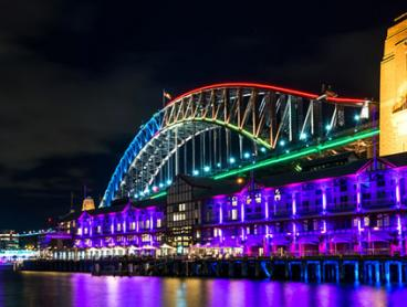 Two-Hour Vivid Festival Cruise with Welcome Drink and Buffet - $35 for a Weekday Ticket or $45 for a Friday or Saturday Ticket (Valued Up To $90)