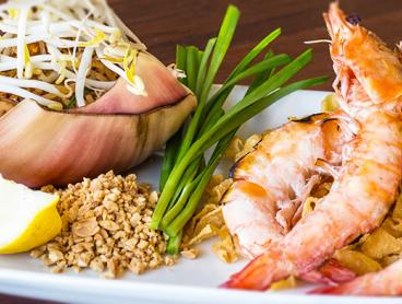Credit to Spend on Authentic Thai Cuisine by the Beach - $29 Gets Two People $60 to Spend, or $49 Gets Four People $100 to Spend