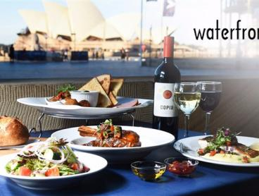 Waterfront Fine Dining & Wine for 2