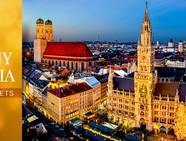 Experience the magic of European Christmas markets on a seven-day tour through Germany and Austria. Walk in a winter wonderland as you explore fairytale towns and cities including Munich, Nuremberg, Salzburg and Vienna, soaking up the atmosphere of the festive markets along the way. See Munich's famous Glockenspiel clock come to life, Mozart's birthplace and much more. Includes nightly accommodation, daily breakfasts and more for just $999 per person (twin share, low season), valued up to $1,719.