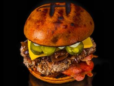 Burger with Potato Royales, Dipping Sauce and Drink for 1 ($15) or 2 People ($29) at The Hot Dog Man (Up to $45 Value)