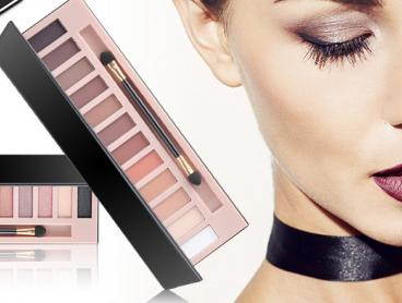 Get a Dramatic Eye Look with This 12 Colour Eyeshadow Palette! This Palette Features 12 Colours of Eyeshadow to Allow You to Create Subtle or Dramatic Makeup Looks. Only $15 for Either Sets or $26 for Both with Delivery Included