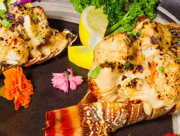 Eight-Dish Autumn Seduction Degustation is $69 for One Person, $138 for Two or $269 for Four. Upgrade to Include an Extra Large Lobster Tail from $88 (Valued Up To $740)