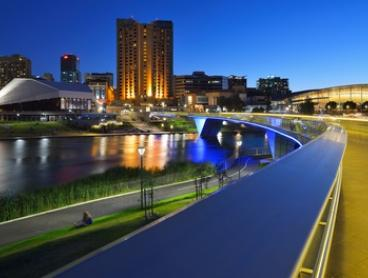 Adelaide, CBD: Up to Two-Night Escape for Two People with Wine and Parking at Hotel Grand Chancellor Adelaide on Currie
