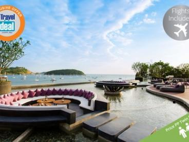 Phuket: From $1,399 Per Person for a Seven-Night Getaway with Flights, Meals and Massage at The 5* Nai Harn