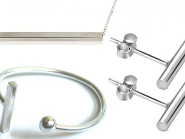 Iconic Bar Jewellery Set: Two- ($26) or Three-Piece ($39) (Don't Pay up to $83)