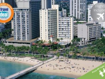 Honolulu: $1,649 Per Person for a Seven-Night Getaway with Yoga and Fitness Classes and Flights at Park Shore Waikiki