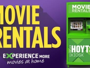 HOYTS Kiosk: Rent Two Movies for $6 or Three Movies for $8 at over 700 locations (Up to $11.97 Value)
