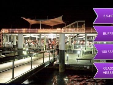 2.5-Hour Vivid Festival Cruise with Seated Dining for One Child ($59) or Adult ($79) with The Pontoon (Up to $150 Value)