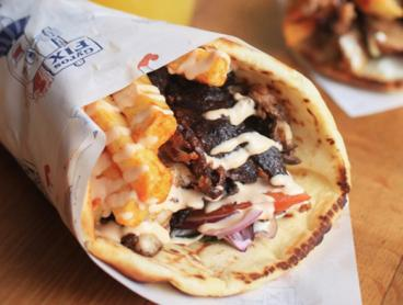 Just $10 for a Gyros Meal for One Person with a Drink and Rice Pudding Dessert (Valued Up To $17)