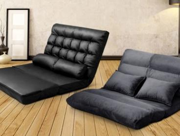 From $129 for Adjustable Double Size Lounge Sofa Bed