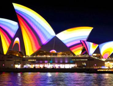 90-Minute Vivid Light Show Harbour Cruise with Two Drinks per Person. Just $25 for a Child Ticket or from $30 for an Adult Ticket (Valued Up To $69)