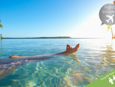 Fiji: From $849 Per Person for a Seven-Night Tropical Getaway with Flights and Breakfast at The Crows Nest Resort