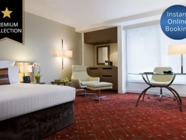 Melbourne: 1 Night Stay for 2 People + Welcome Drinks, Late Check-Out and Option for Breakfast in a 5* Mystery Hotel