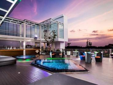 Bali: 3-7 Nights for Two People in Deluxe Room Balcony with Bar Admission at Love Fashion Hotel by Fashiontv Bali