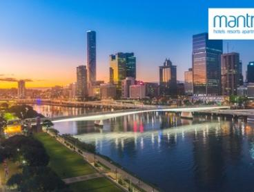 Brisbane: 1- or 2-Night Stay for Two People with Wi-Fi at 4* Mantra Terrace Hotel