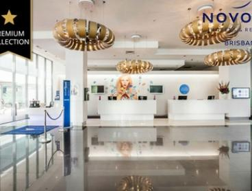 Brisbane: 1 Night for Two with Late Check-Out and Option for Parking at 4* Novotel Hotel Brisbane