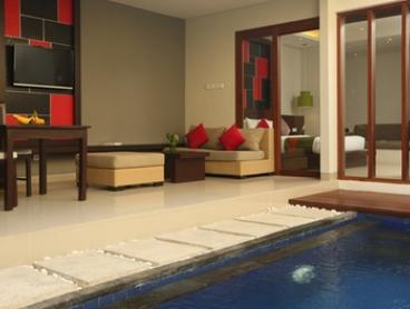 Bali: 2 to 7 Nights for Two People in Pool Villa with Breakfast and Airport Transfer at the 4* Samaja Villas Beachside