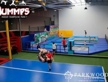 From $18 for Trampoline Pass and Mini Golf at Parkwood Village, Home of the Gold Coast Titans (From $32 Value)
