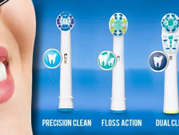 Stock Up Your Toothbrush Container with Oral B Compatible Electric Toothbrush Heads. Available in Five Styles - Why Not Try a Few? Choose from a Four, Eight or Sixteen Pack. From Only $9 Including Delivery
