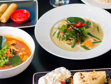 Scrumptious Thai Banquet with Soft Drinks in the CBD - Just $39 for Two People or $75 for Four People (Valued Up To $154)