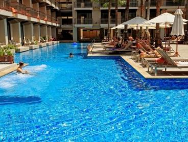 Phuket, Thailand: Four, Eight, or Ten-Night Tropical Stay with Daily Breakfast and Cocktails at Blue Ocean Resort
