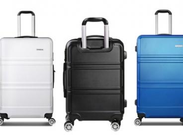$139.99 for a Three-Piece Hardshell ABS Luggage Set with TSA-Approved Lock