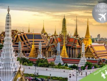 Thailand: From $1,199 Per Person for Seven-Night Trails and Gems of Siam Tour with Flights with HolidayXP