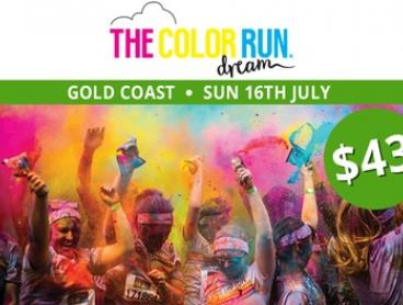 The Color Run™ Dream Tour - Entry for $43 (Plus Booking Fee), 16 July, Broadwater Parklands