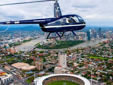 Mount Coot-tha Flight for One ($69) or Brisbane Twilight Flight for Two ($398) with V² Helicopters (Up to $598 Value)
