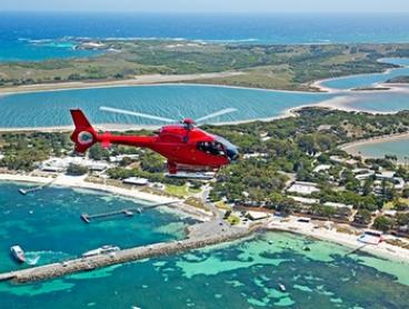 Rottnest Private Helicopter Flight - Two ($540) or Three People ($809) with Rotorvation Helicopter (Up to $1,620 Value)