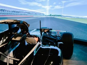 30-Minute F1 Simulator for One ($49) or 60-Minute Simulator for Two People ($129) at MXJ F1 Simulator (Up to $299 Value)