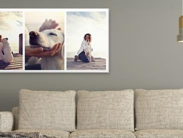 Huge 50 x 100cm Custom Rectangular Canvas Print - Only $45 for One, $85 for Two or $125 for Three (Valued Up To $689.85)