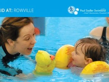 6 Swimming Lessons for Infant ($0), 1 ($45), 2 ($90), 3 ($135) or 4 ($180) People, Rowville (Up to $559.20 Value)