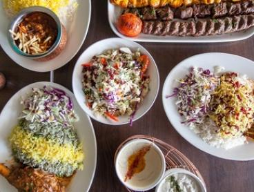 3-Course Meal + Tea for 2 ($39) or 4 ($75) or 6 People ($110) at Shiraz Authentic Persian Restaurant (Up to $213 Value)