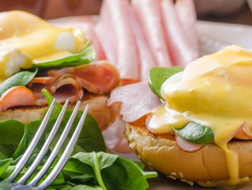 Breakfast for Two for Just $25 - Includes Your Choice of Dish Each plus Tea or Coffee (Valued Up To $58.80)