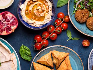 Eastern Mediterranean Tasting Menu with Wine in Kingston - $59 for Two People or $115 for Four People (Valued Up To $240)