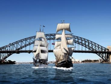 Lunch or Dinner Twilight Cruise for One ($69) or Two ($135) with Sydney Harbour Tall Ships (Up to $218 Value)