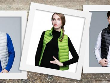 Stay Cosy the Most Stylish Way Possible with This Men's and Women's Duck Down Puffer Vest! This Vest Features 90% Duck Down and 10% Duck Feather in the Filling Plus Warm Pockets to Keep You Snug. Only $29